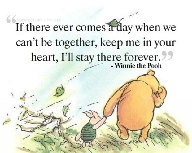 Winnie the Pooh best friend quote
