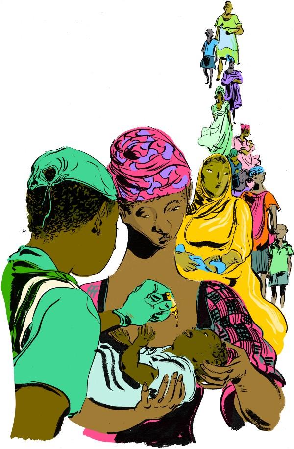 Illustrations by Wesley Allsbrook Olikoye 3